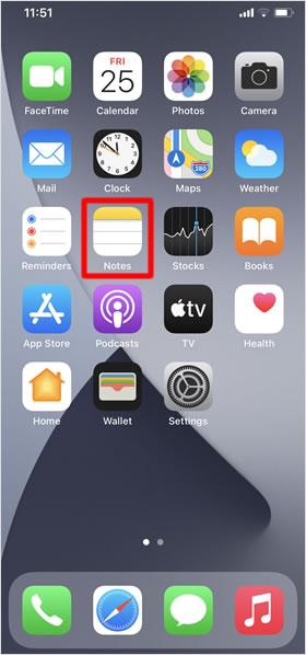 เลือกแอพที่ต้องการ