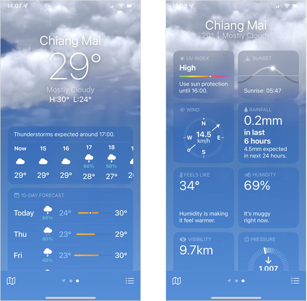Weather (สภาพอากาศ)