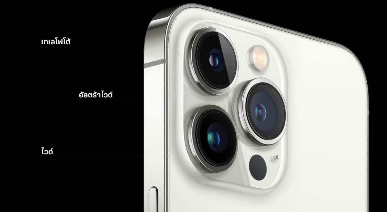 กล้องในรุ่น Pro