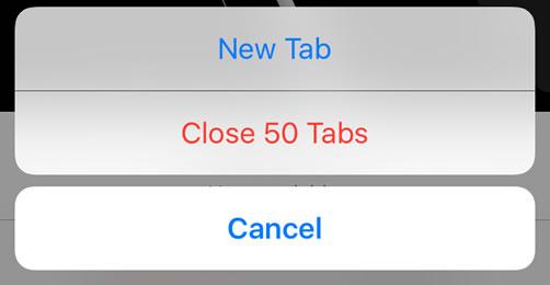 ฟีเจอร์ใหม่ใน iOS 10 : ปิดหน้าเว็บ Safari ที่เปิดไว้ พร้อมกันในครั้งเดียว